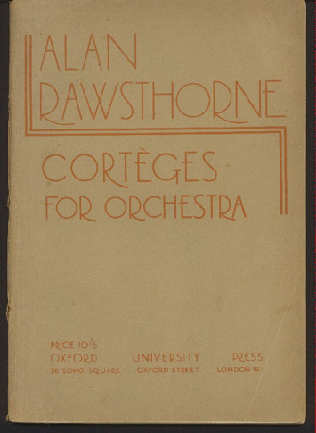 Image for Corteges. Fantasy Overture for Orchestra