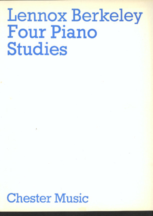 Image for Four Piano Studies