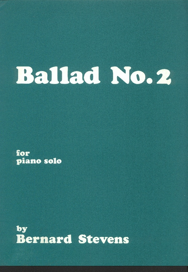 Image for Ballad   No 2 for Piano Solo  Op 42