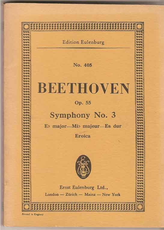 Image for Symphony No 3 in Eb Major Op 55 (Eroica)