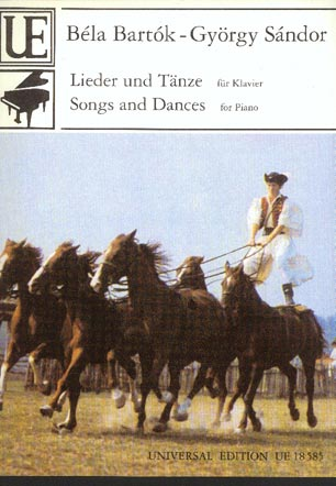 Image for Lieder und Tanze Fur Klavier (Songs and Dances for Piano)