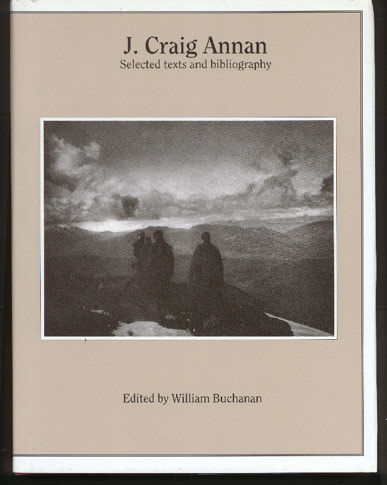 Image for J Craig Annan: Selected Texts and Bibliography