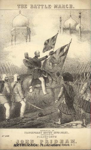 Image for The Battle March: Descriptive of Triumphant Entry Into Delhi