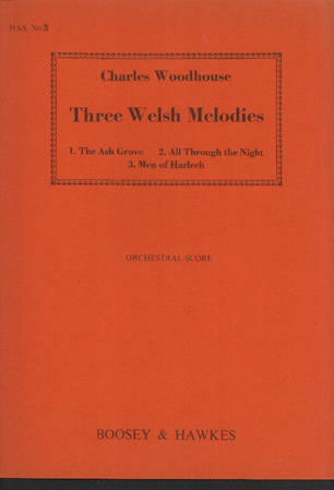 Image for Three Welsh Melodies