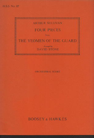 Image for Four Pieces from the Yeomen of the Guard
