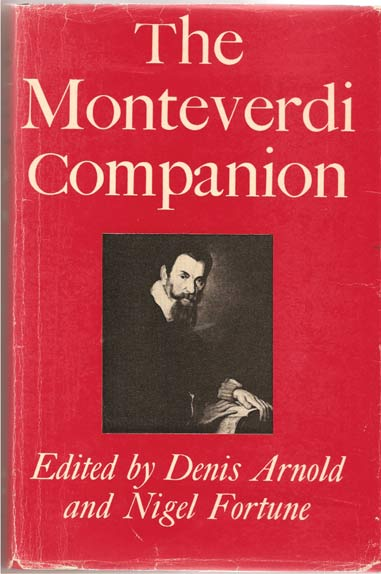 Image for The Monteverdi Companion