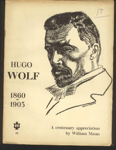 Image for Hugo Wolf 1860-1903. A Centenary Appreciation