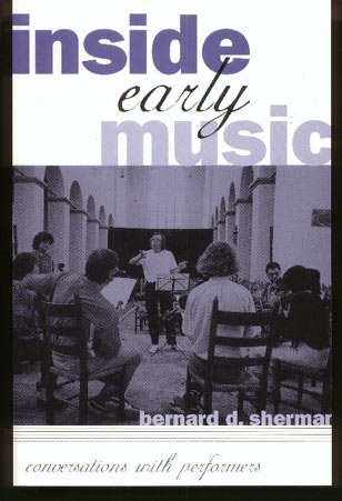 Image for Inside Early Music: Conversations with Performers