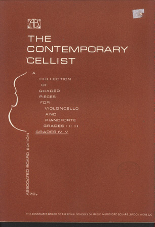 Image for The Contemporary Cellist, Book II (Grades IV & V)