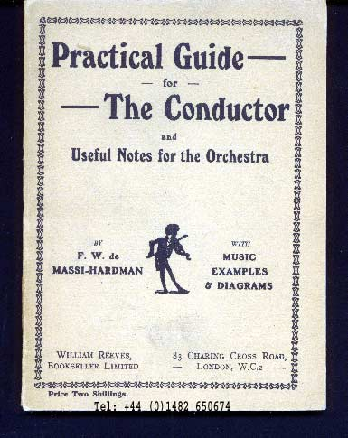 Image for Practical Guide for the Conductor and Useful Notes for the Orchestra