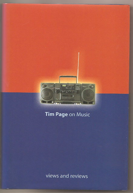 Image for Tim Page on Music: Views and Reviews