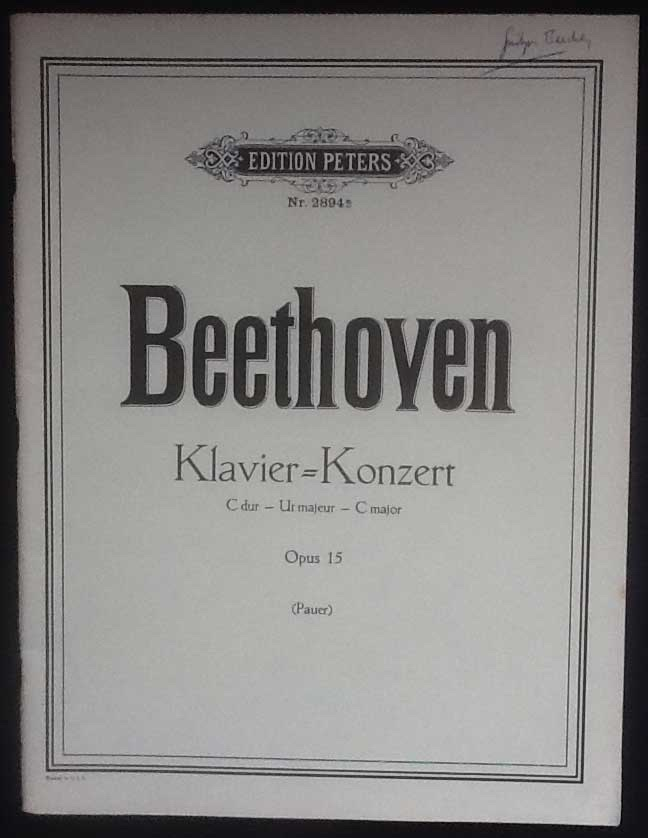 Image for Klavier Konzert Piano Concerto in C Major Opus 15