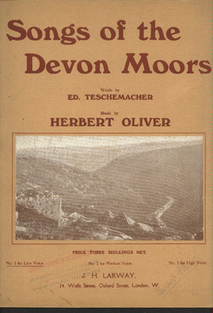Image for Songs of the Devon Moors