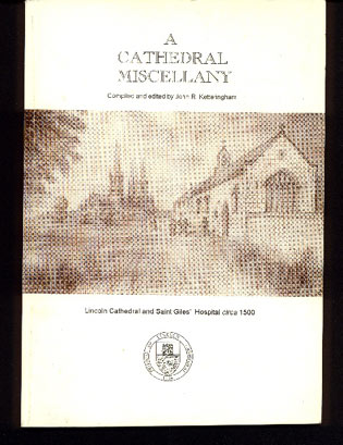 Image for A Cathedral Miscellany