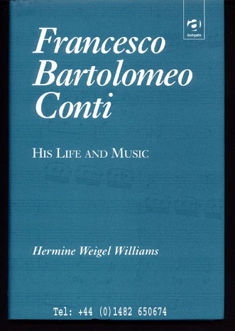 Image for Francesco Bartolomeo Conti - His Life and Music