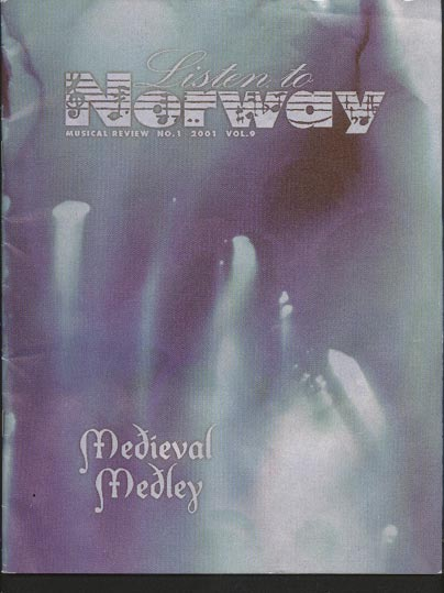 Image for Listen to Norway - Musical Review Vol 9 No 1
