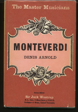 Image for Monteverdi