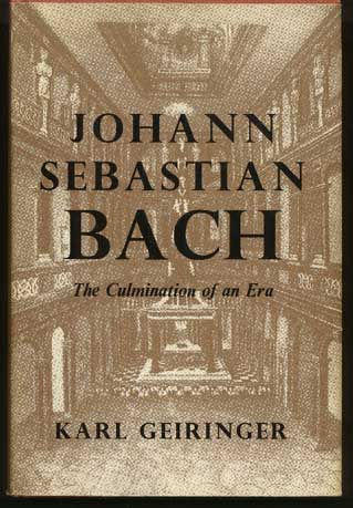 Image for Johann Sebastian Bach The Culmination of an Era