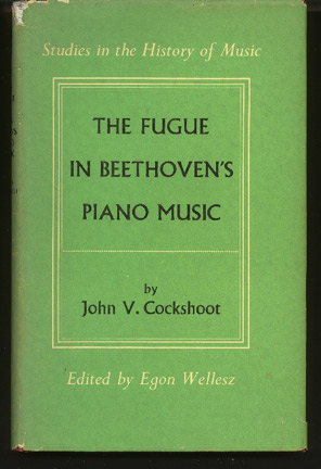 Image for The Fugue in Beethoven's Piano Music