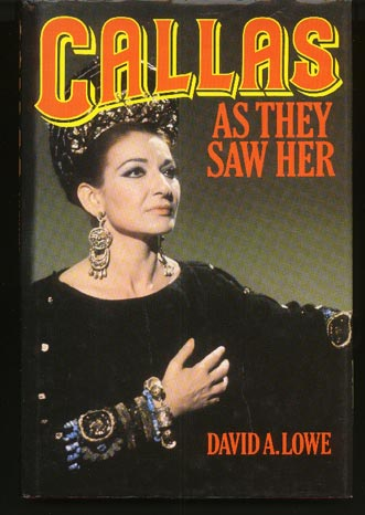 Image for Callas As They Saw Her