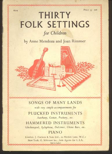 Image for Thirty Folk Settings for Children