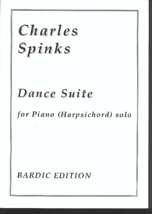 Image for Dance Suite. for Piano (Harpsichord) Solo
