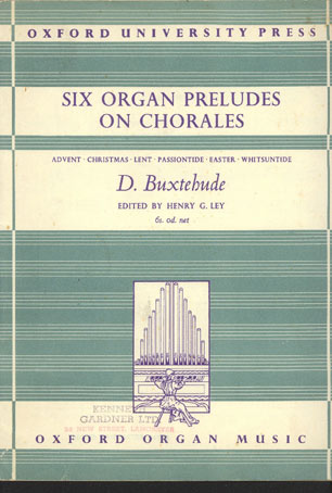 Image for Six Organ Preludes on Chorales.  Advent, Christmas, Lent Passiontide, Easter, Whitsuntide. Edited by Henry G. Ley