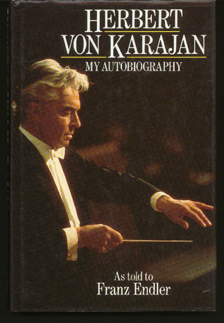 Image for Herbert Von Karajan. My Autobiography