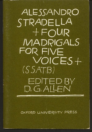 Image for Four Madrigals for Five Voices (SSATB)