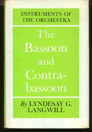 Image for The Bassoon and Contrabassoon
