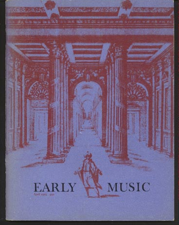 Image for Early Music Vol I No 2 April 1973