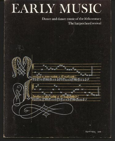 Image for Early Music Vol 2 No 2 April 1974