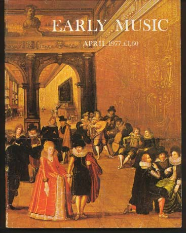 Image for Early Music Vol 5 No 2 April 1977
