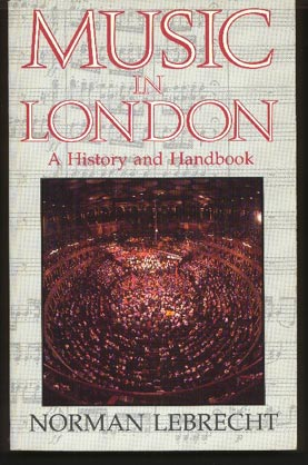 Image for Music in London. A History and Handbook