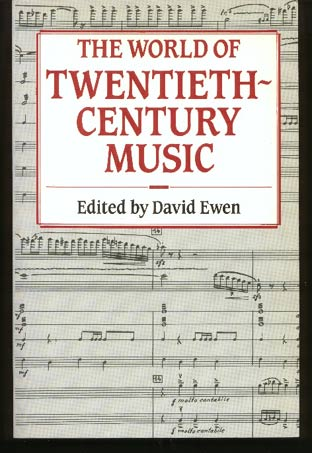 Image for The World of Twentieth Century Music