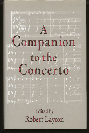 Image for A Companion to the Concerto