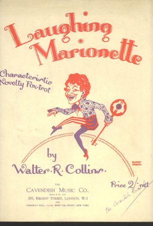 Image for Laughing Marionette. Characteristic Novelty Fox-Trot
