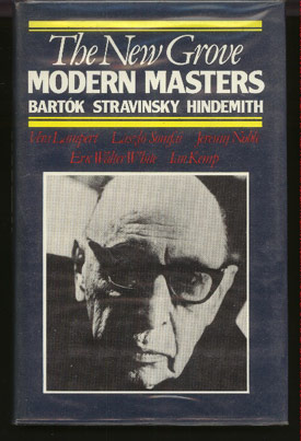 Image for Modern Masters: Bartok; Stravinsky; Hindemith