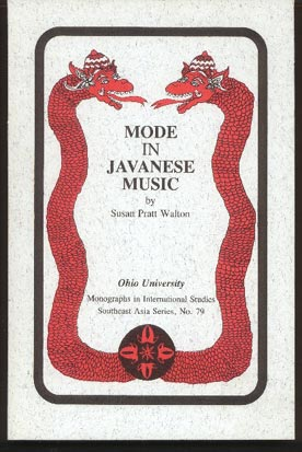 Image for Mode in Javanese Music
